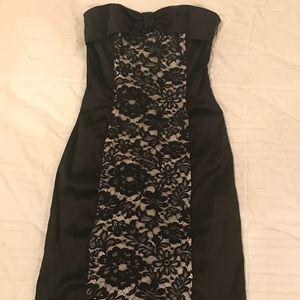 McClintock Strapless Bow Dress